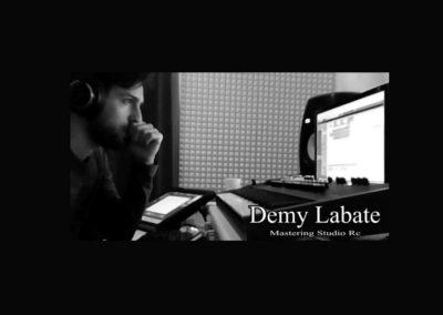 Demy Labate Studio Recording